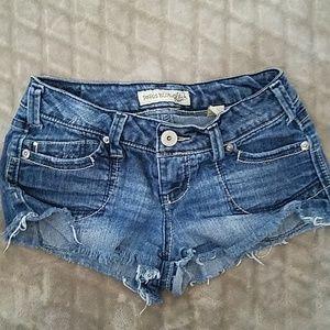 Paris Blues short shorts